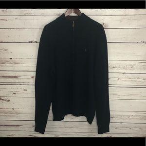 Polo Ralph Lauren Men's 1/4 zip sweater XL